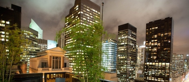 Peninsula Hotel Rooftop