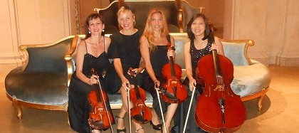 Plaza Hotel Wedding String Ensemble
