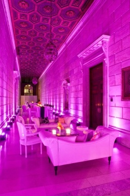 New York decor Lighting for Wedding event venue space