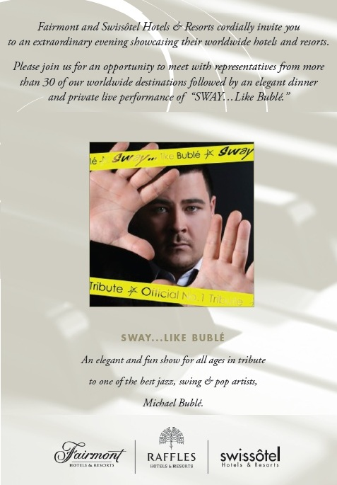 Michael Buble Tribute show corporate event entertainment