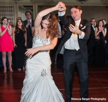 The Bride & Groom on the Dance Floor at the Four Seasons Hotel in Philadelphia
