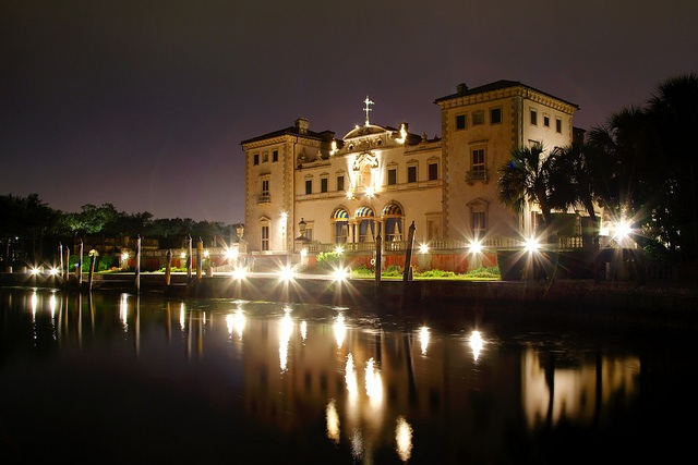 The Beautiful Vizcaya Museum on the Miami Waterfront