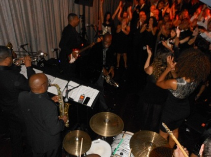 Cheering Guests Loved Larry Gittens, Trumpeter for Kool & The Gang and Party Guest Surprise Soloist