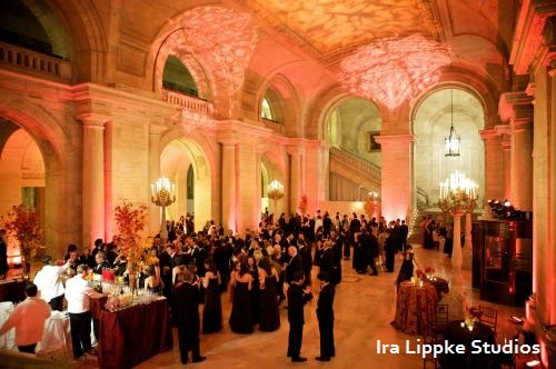 The Breathtaking Astor Hall Cocktail Reception at The New York Public Library
