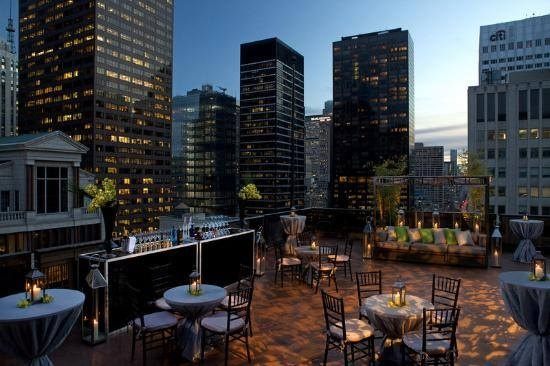 Salon de Ning - The Peninsula Hotel's Rooftop Lounge and Party Venue