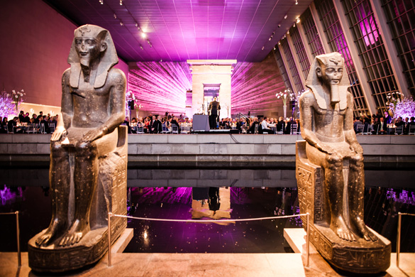 The Temple of Dendur - The Egyptian Wing of the Metropolitan Museum of Art is a Magnificent Event Setting