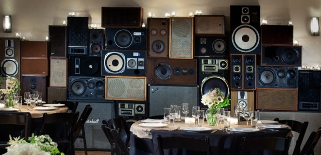 The Wall of Sound at The Breslin below the Ace Hotel